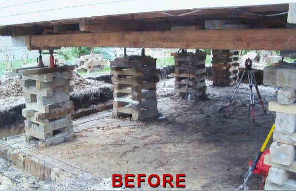 Neidlinger Structural Repair Foundation Repair Sagging